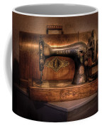 Sewing Machine  - Singer  Coffee Mug by Mike Savad