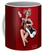 Sexy Guitar Coffee Mug