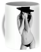 Sexy In A Black Hat Coffee Mug