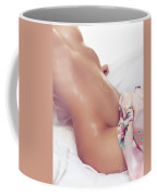 Sexy Wet Woman Body Closeup Coffee Mug