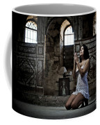 Sexy Woman In Church 2 Coffee Mug
