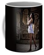 Sexy Woman In Church Coffee Mug