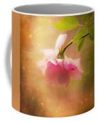 Shabby Chic Rose Print Coffee Mug