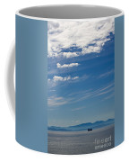 Blue Skies And Bluer Seas Coffee Mug