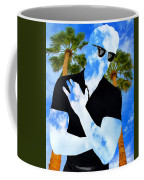 Shadow Man Palm Springs Coffee Mug