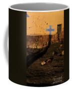 Shadow Of Cross Peru Coffee Mug