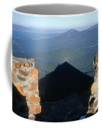 M-05715-shadow Of Mt. Mcloughlin Coffee Mug