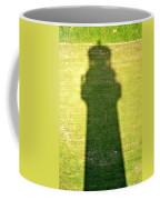 Shadow Of Tybee Lighthouse Coffee Mug