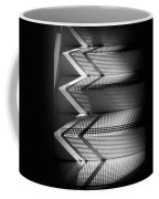Shadow Play - Black And White Coffee Mug