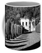 Shadows At Clos Pegase Winery Coffee Mug