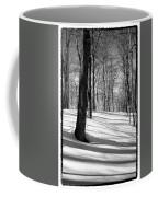 Shadows At Mccauley Mountain Coffee Mug