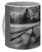 Shadows In The Park Square Coffee Mug