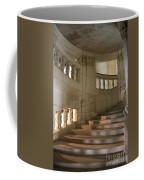 Shadows On Chateau Chambord Stairs Coffee Mug