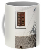 Shadows On Old House. Coffee Mug