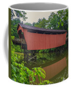 Shaeffer Or Campbell Covered Bridge Coffee Mug