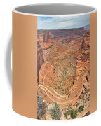 Shafer Trail Coffee Mug by Adam Romanowicz