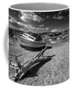 Shaldon Beach In Mono  Coffee Mug
