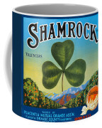 Shamrock Crate Label Coffee Mug