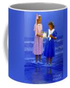 Sharing A Sparkler  Coffee Mug