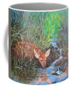 Sharing The Pond Coffee Mug