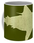 Shark Coffee Mug by Michelle Calkins