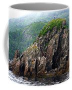 Sharp Jagged Rocks  Coffee Mug