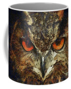 Sharpie Owl Coffee Mug by Ayse Deniz