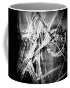 Shatter - Black And White Coffee Mug