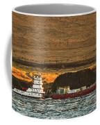 Shaver Tug On The Columbia River Coffee Mug
