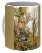 Shawee Bluff In Fall Coffee Mug