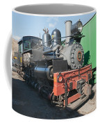 Shay Engine 12 In The Colorado Railroad Museum Coffee Mug