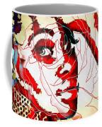 She Pop Art Rose Coffee Mug