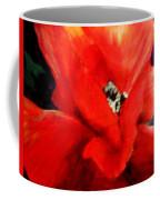 She Wore Red Ruffles Coffee Mug