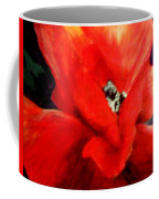 She Wore Red Ruffles Coffee Mug