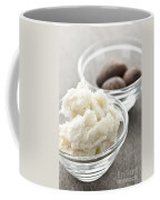 Shea Butter And Nuts In Bowls Coffee Mug