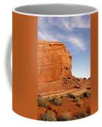 Shear Lined Cliff Coffee Mug