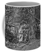 Shed Bw Coffee Mug