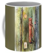 Shed Door Coffee Mug