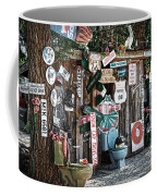 Shed Toilet Bowls And Plaques In Seligman Coffee Mug by RicardMN Photography