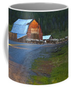 Sheep Crossing Coffee Mug