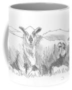 Sheep Drawing Coffee Mug