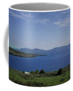 Sheep Grazing By The Irish Sea - Donegal Ireland Coffee Mug