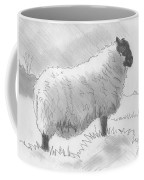 Sheep Sketch Coffee Mug