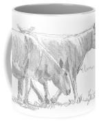 Sheep Walking Coffee Mug