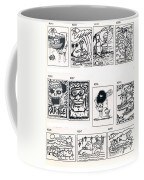 Sheet Four Coffee Mug