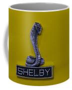 Shelby Gt350 Emblem On Yellow Coffee Mug