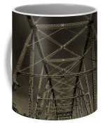 Shelby Street Bridge Details Nashville Coffee Mug