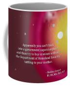 Sheldon Cooper - Government Supercomputer And Uranium Coffee Mug