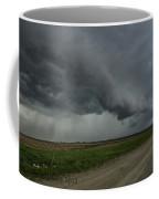 Shelf Cloud With Rain Shafts Coffee Mug