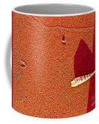 Shell And Sand Reddish Version Coffee Mug